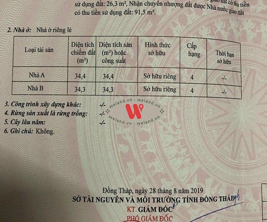 Bán nhà 118m2 (4.3x27), Cái Sơn, P Hòa Thuận