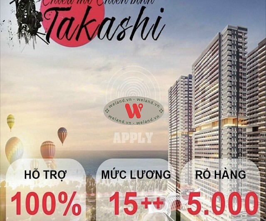 Mở bán đợt 1 dự án Takashi Ocean Suite